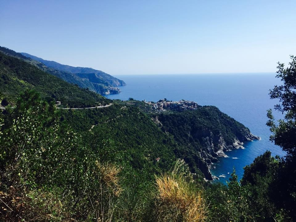 The Mountains of Cinqueterre