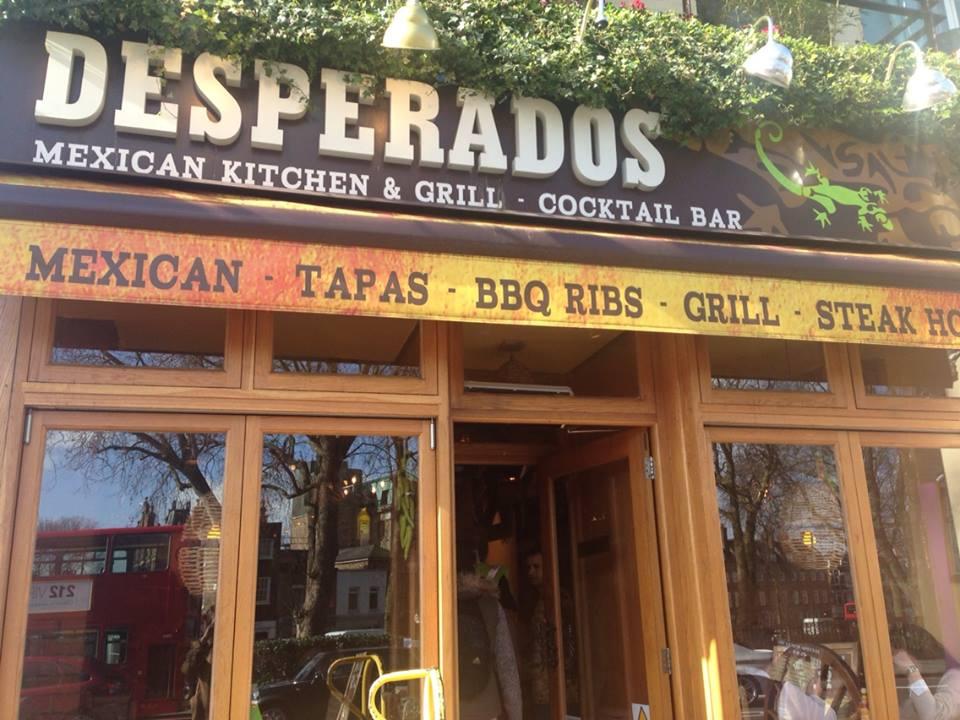 Desperados Angel Myo Pizza