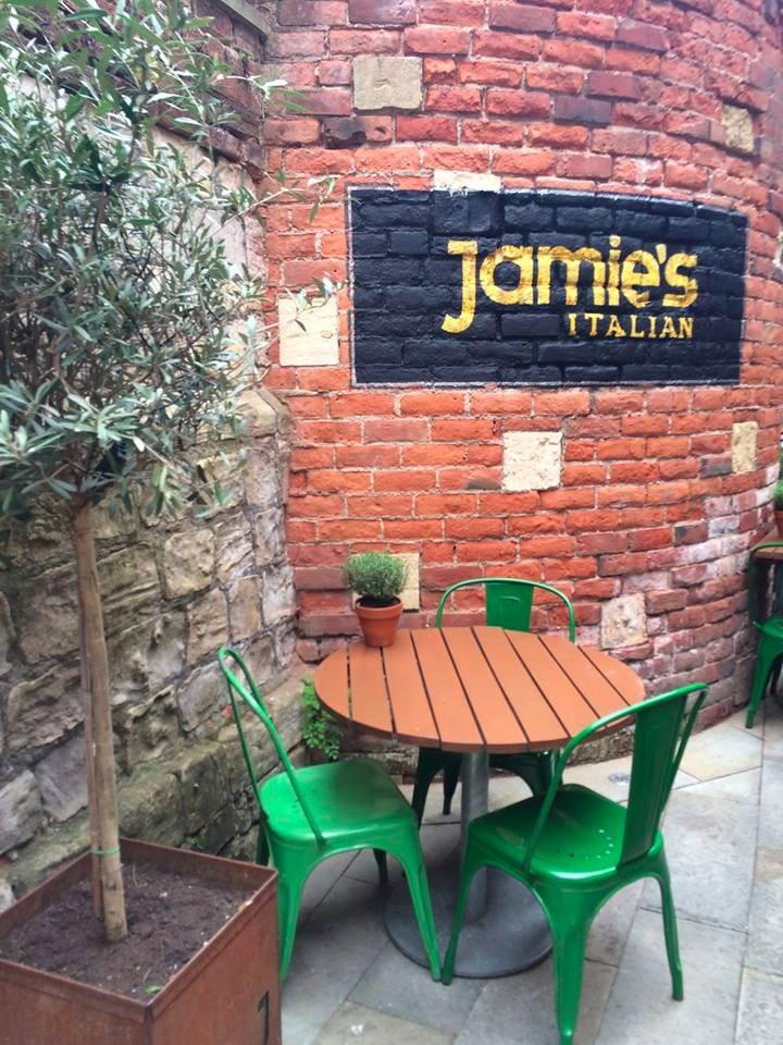 Jamie's Italian, York - MYO Pizza