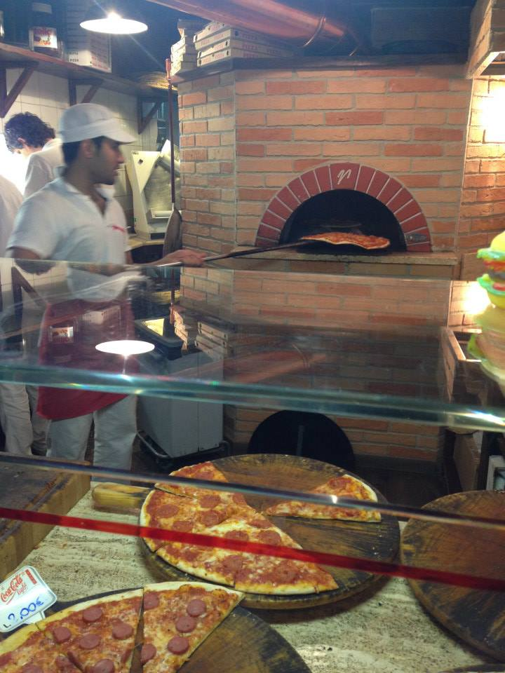 The thinner, wood fired take-away pizza from Lucca