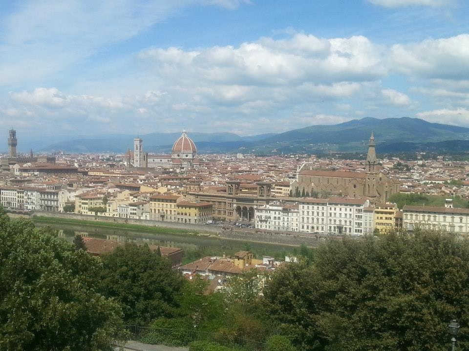 View from the top.... of Florence