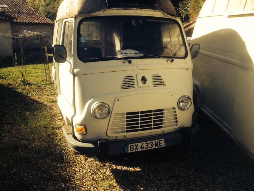 The van - pre conversion