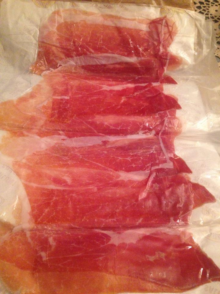 Parma ham - all for 3.50 euros!