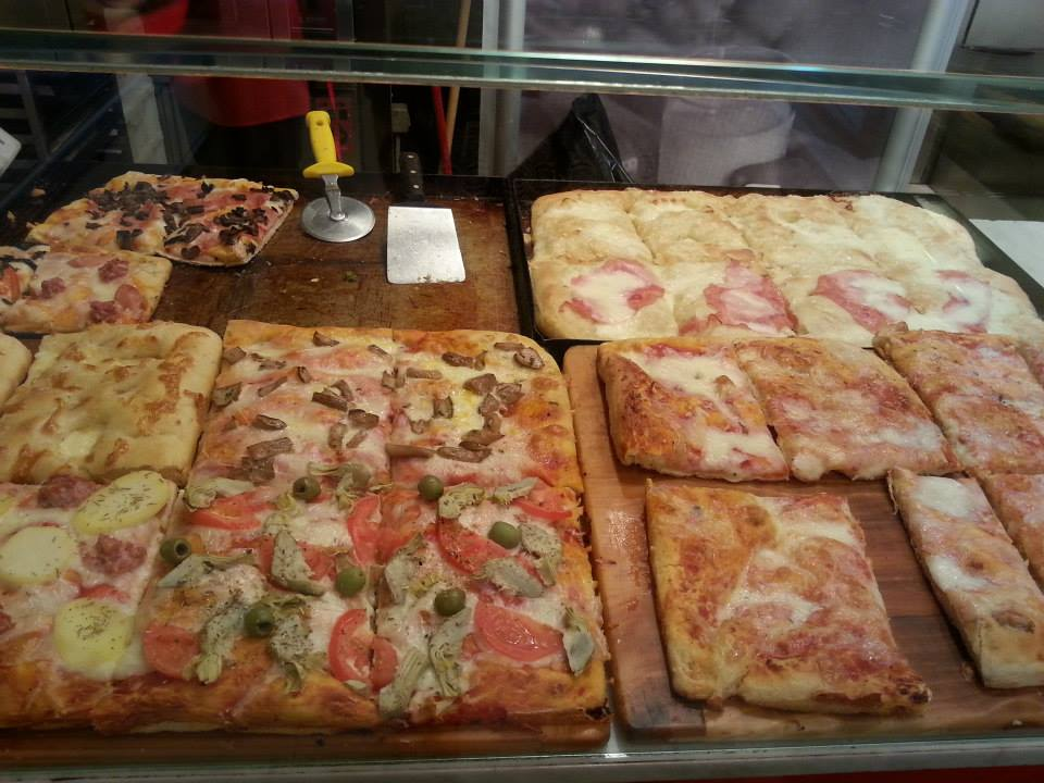 An idea of the pizza on offer...