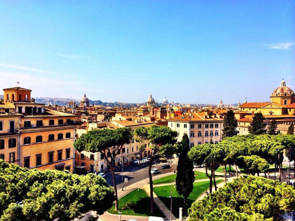 Isn't Rome beautiful!
