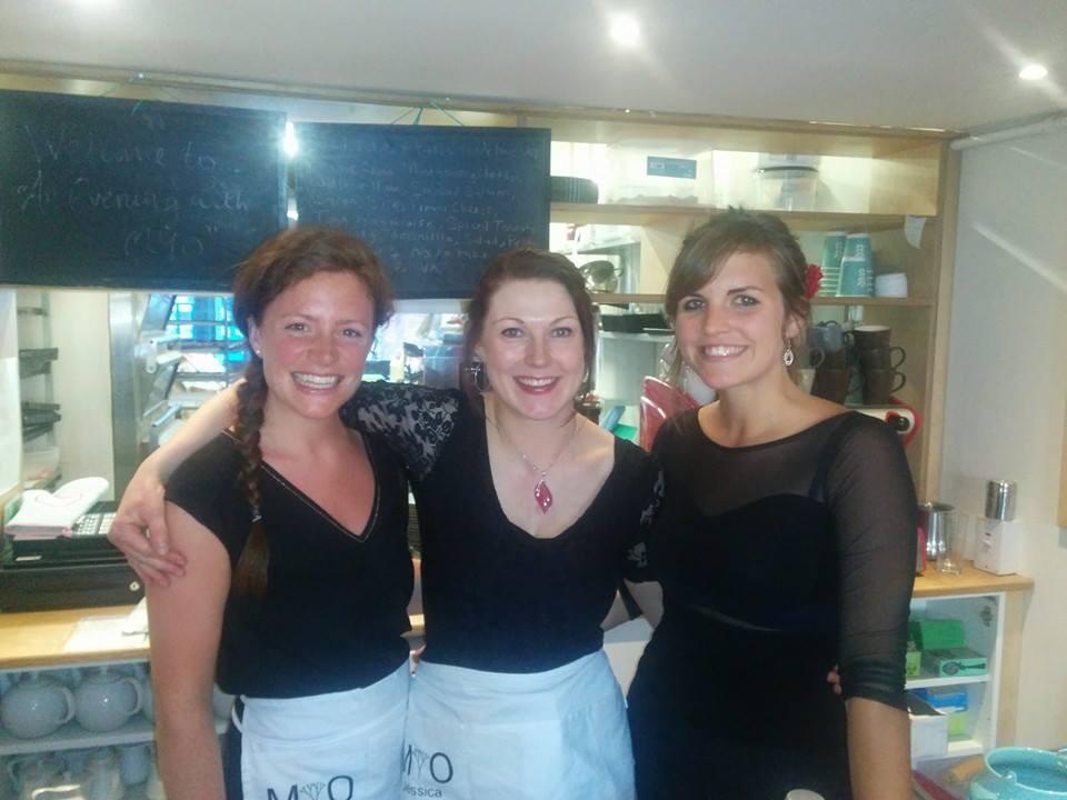 The Three MYO girls