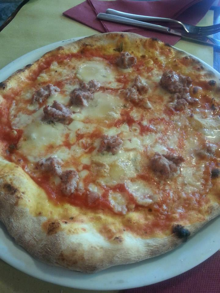 "Al Nono Risorto - ""Max"" - Gorgonzola and sausage"