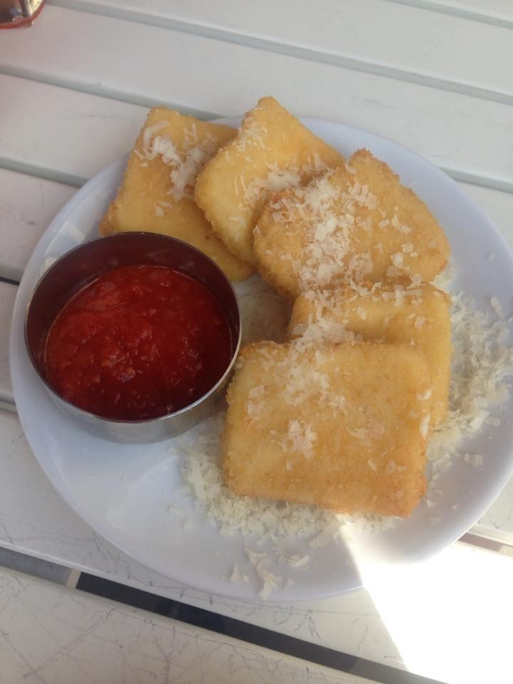 Deep fried Mozzarella